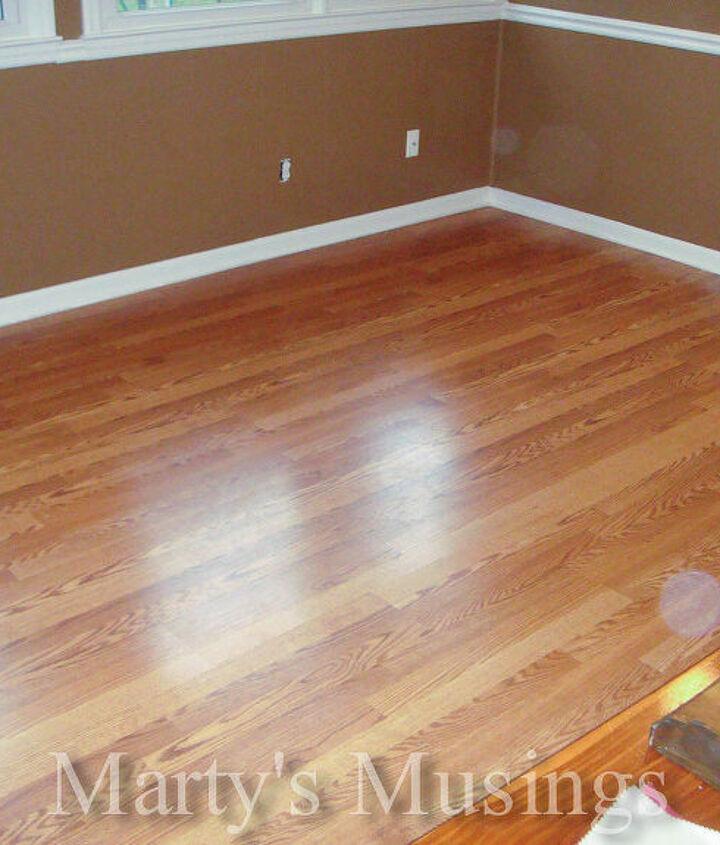 New Pergo flooring. No more carpet for me!