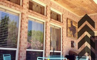 reclaimed wood ceiling tips amp tricks, curb appeal, diy, how to, outdoor living, woodworking projects