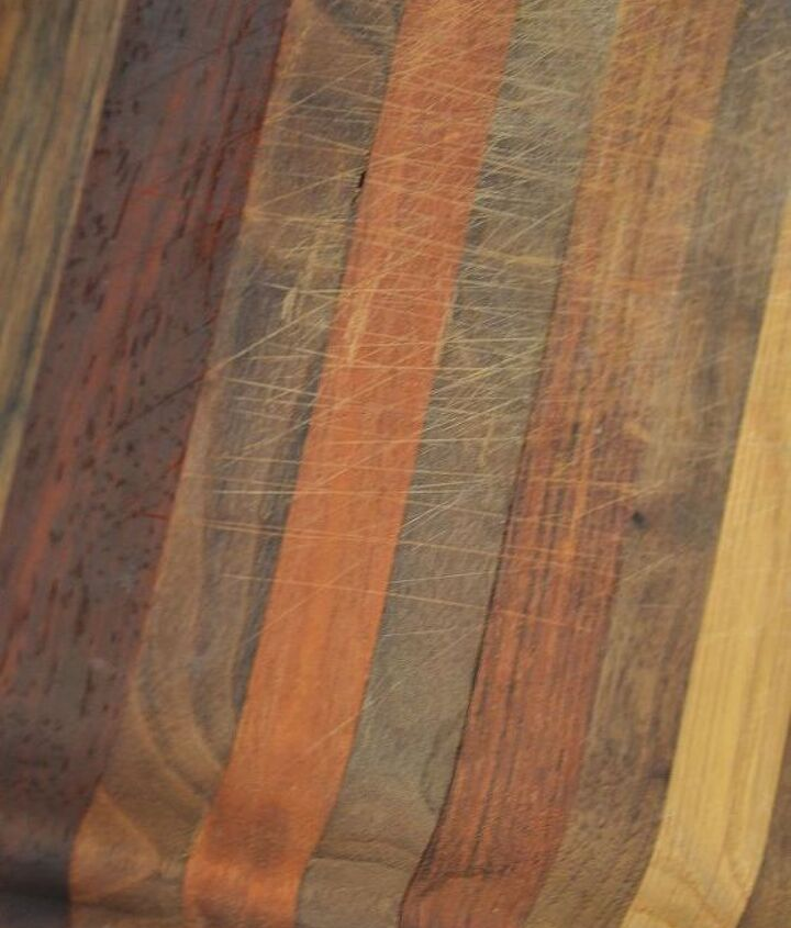 how to revive butcher block, cleaning tips, countertops, go green, kitchen design, Here s how my cutting boards looked before