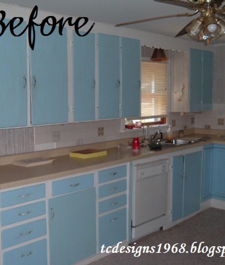 My Kitchen Before the transformation