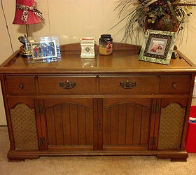 New Life For An Old Stereo Cabinet