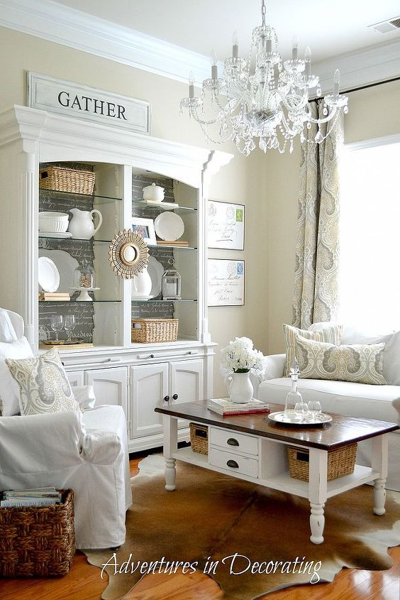 sitting room gets a few tweaks, home decor, living room ideas