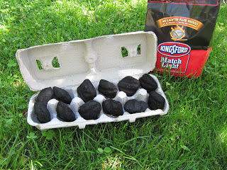 eggs tra special campfire starter, outdoor living