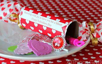 Easy DIY Valentine Poppers