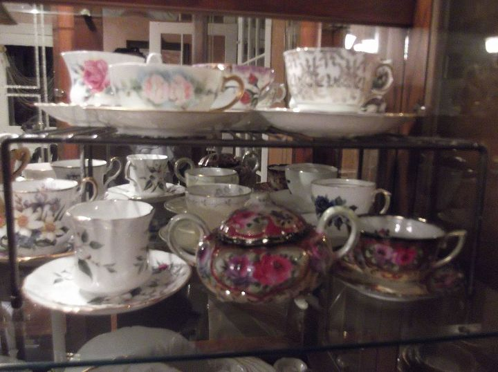 i adore my teacup collection, home decor