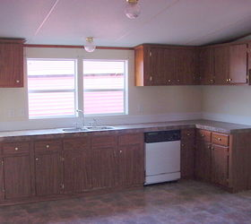 Kitchen Makeover, Home Decor, Kitchen Design, The Before Bland Unattractive  Typical Mobile Home