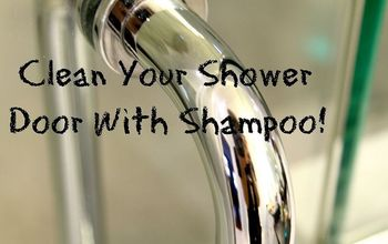 Use Shampoo to Clean Your Glass Shower Door