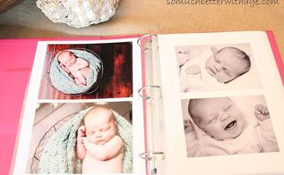 organize your professional family photos, organizing, Add them all to a beautiful binder