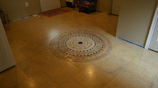 q can ceramic tile be lay d over press on floor tile, flooring, tile flooring, tiling, Utility room floor over crawl space