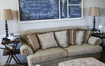 How to Turn a Screen Door into a Chalkboard