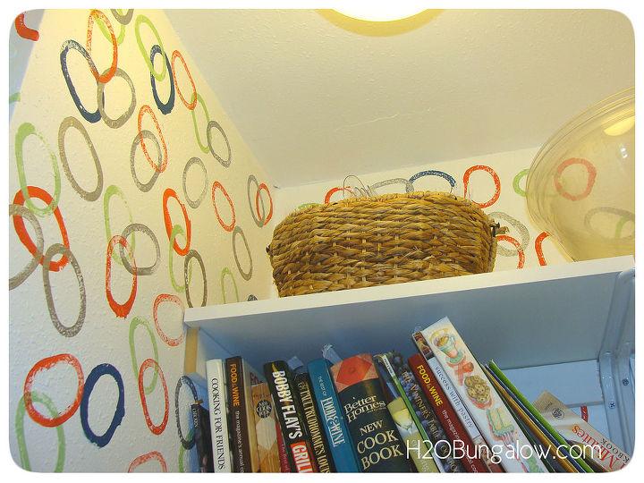 paint faux wallpaper, paint colors, painting, wall decor