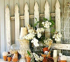 Don T Fence Me In Using Garden Fences As Decor, Home Decor, Repurposing  Upcycling
