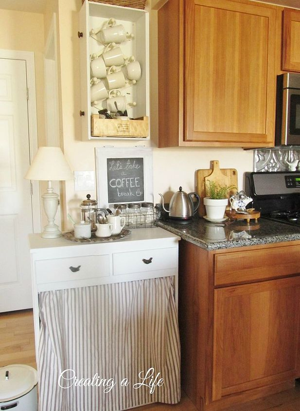 diy farmhouse style kitchen cabinet, diy, home decor, kitchen cabinets, kitchen design, painted furniture, repurposing upcycling