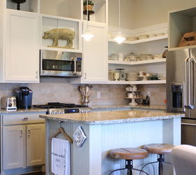 Chalk Painted Kitchen Cabinets Amp Cottage Kitchen Redo, Electrical, Home  Decor, Kitchen Cabinets