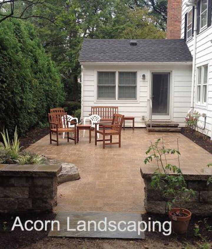 Patio/Retaining Wall Replace in Rochester NY
