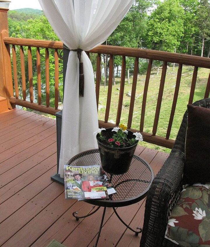my outdoor living space come in and stay awhile, decks, outdoor living