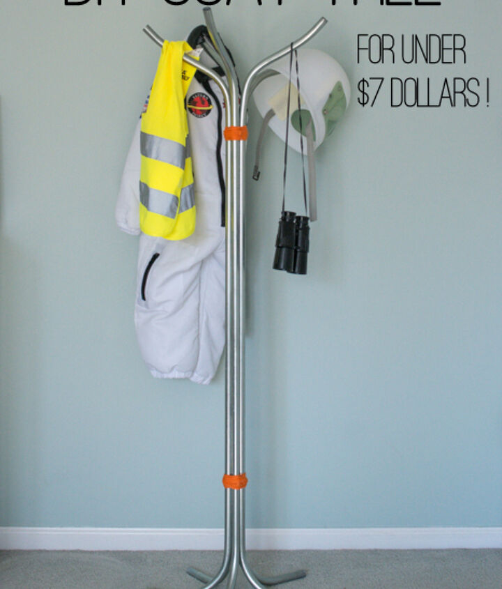 DIY Coat Tree out of Electrical Conduit.