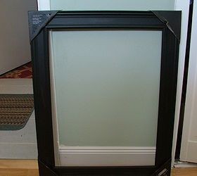 Old Medicine Cabinet Gets A Facelift For 30, Cabinets, Lightweight Open  Picture Frame From