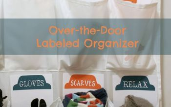 Labeled Over-the-Door Organizer