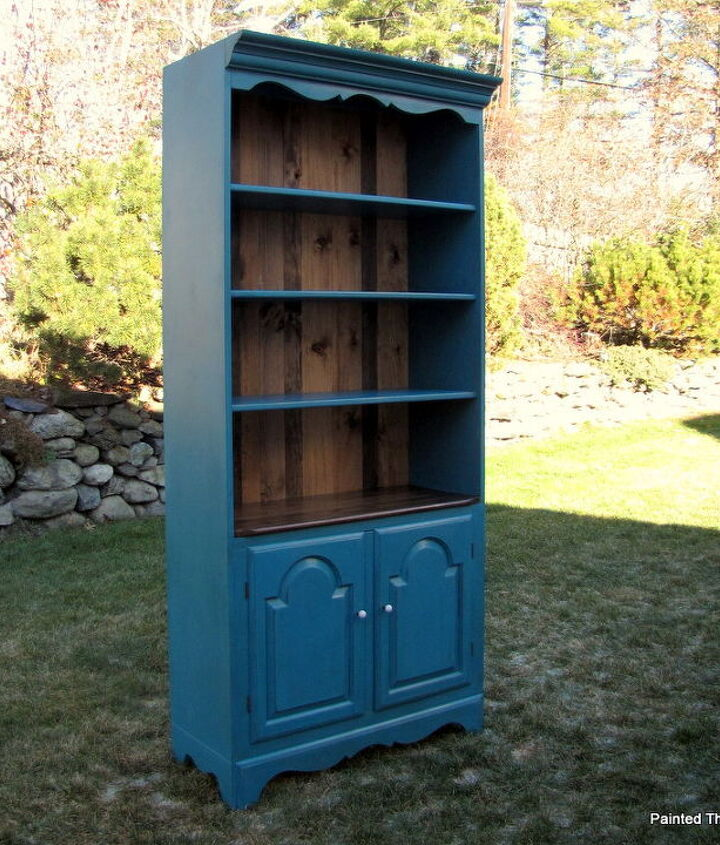 meet maggie the hutch, painted furniture