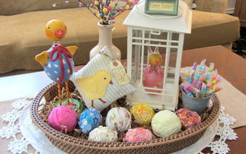 An Easter Basket Vignette