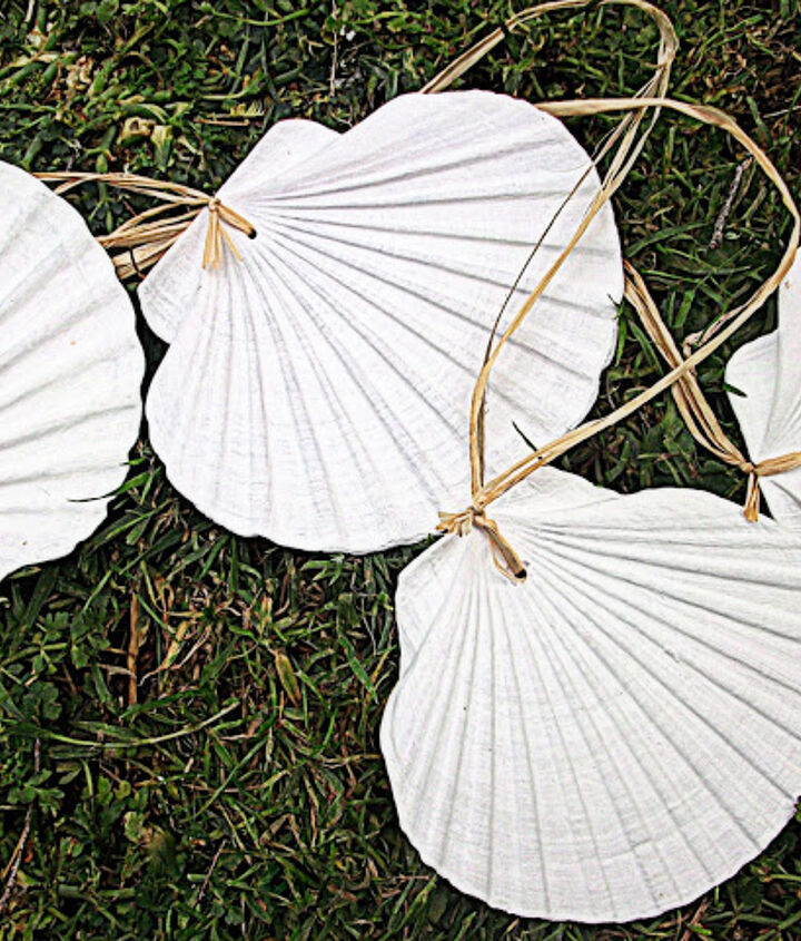 beautiful hanging shells, crafts