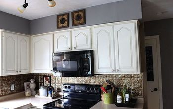 Painted Kitchen Cupboards