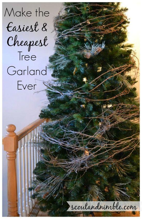christmas tree decorating holidayhome diy tree garland, christmas  decorations, seasonal holiday decor - Christmas Tree Decorating #HolidayHome, DIY Tree Garland Hometalk