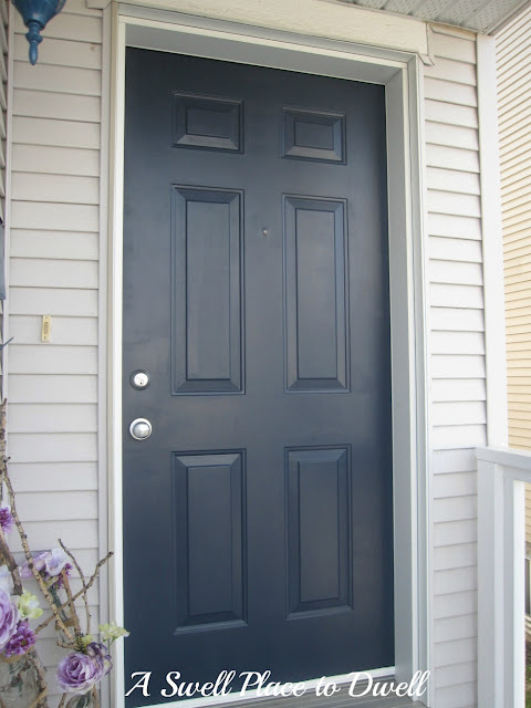 Painting Your Front Door Easier Than You May Think Doors Navy Blue