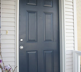 Attractive Painting Your Front Door Easier Than You May Think, Doors, Painting, Navy  Blue