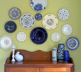 cheap invisible plate hangers repurposing upcycling & Cheap Invisible Plate Hangers | Hometalk
