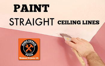 Conquer Painting Straight Ceiling Lines (without Tape)