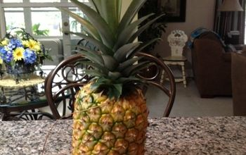 My First Home Grown Pineapple