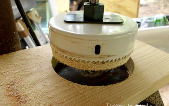 Using a Hole Saw in a Drill Press