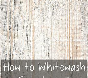 Etonnant How To Whitewash Furniture, Painted Furniture