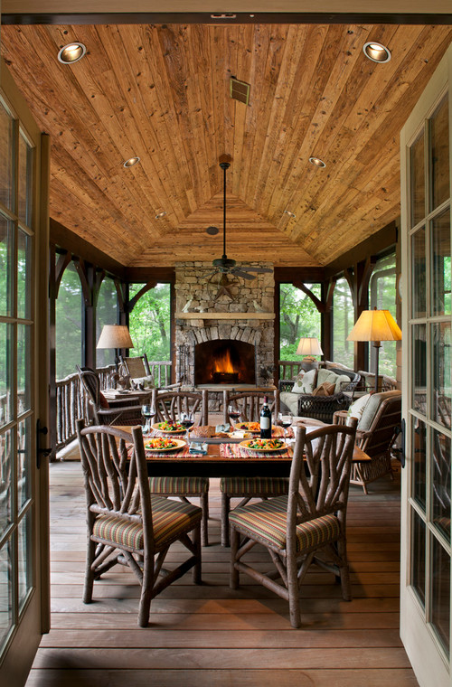 decorating porch nice ideas enclosed screened