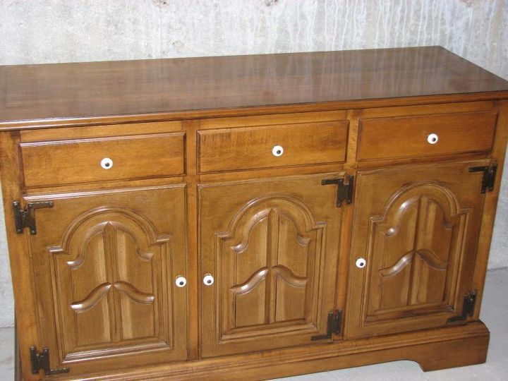 painted vintage furniture, painted furniture, repurposing upcycling, Before photo of the buffet