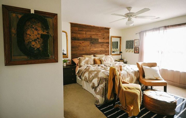 rustic master bedroom reveal, bedroom ideas, electrical, home decor