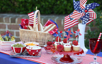 Inspiring Red, White, and Blue Memorial Day Party Ideas