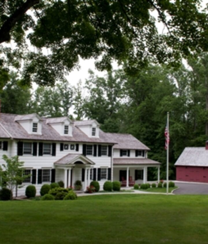 Front View of New Canaan, CT Home Renovation by Titus Built, LLC