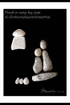 diy mother s day gift from pebbles diy pebble art, crafts, home decor