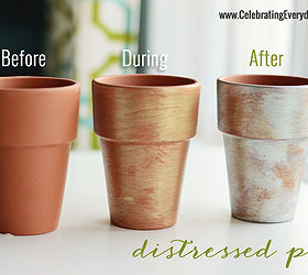 clay pots distressed with paint a michaels craft diy chalkboard paint crafts painting & Clay Pots Distressed With Paint u2013 A Michaels Craft DIY | Hometalk
