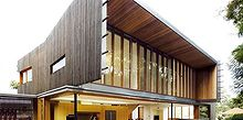highgate hill residence in brisbane by richard kirk architects, architecture, home decor