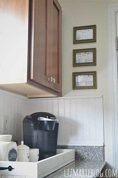 DIY Framed Recipe Cards Kitchen Art   Hometalk