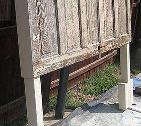 90 year old door made into a headboard bedroom ideas doors painted furniture & 90 year old door made into a headboard | Hometalk pezcame.com