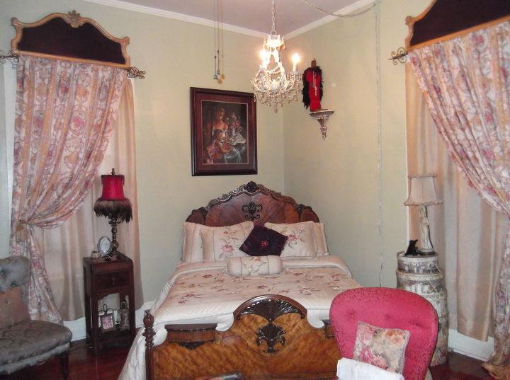 the vintage bedroom, bedroom ideas, hardwood floors, home decor