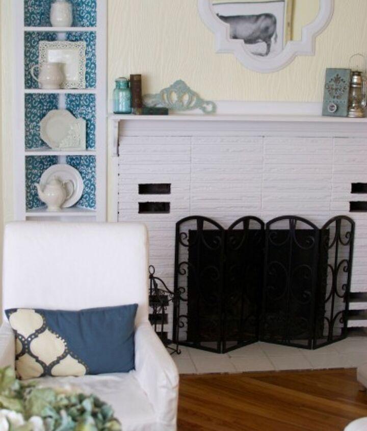 8 shelf makeover, home decor, shelving ideas