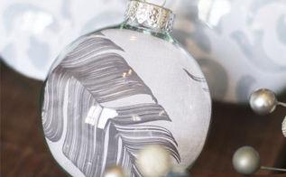 diy christmas glass ornaments using scrapbook paper, crafts, seasonal holiday decor