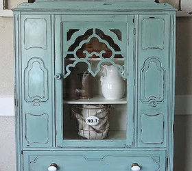 Beau Painted Antique Hutch, Painted Furniture, After