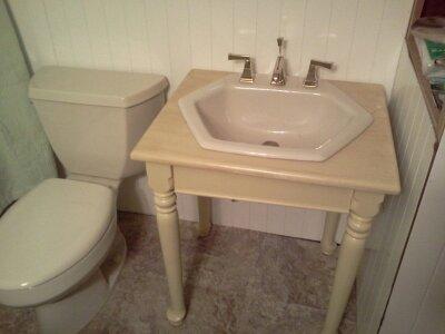 Old Trailer Bathroom Renovation Hometalk - Bathroom remodel longview tx